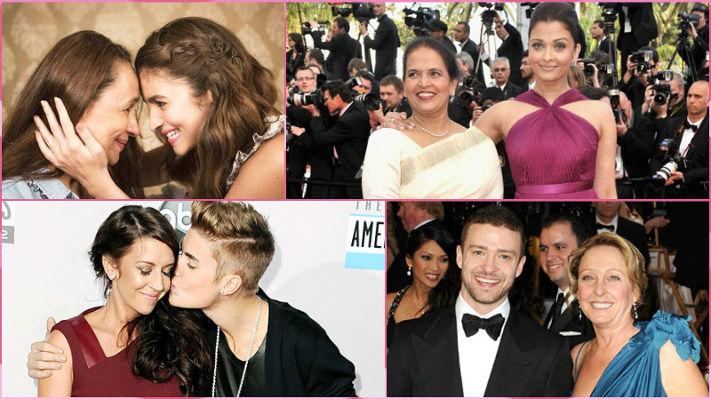 In honour of Mother's Day here are 20 PHOTOS of celebrities with their mothers