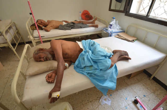 Yemen declares state of emergency as cholera strikes Sanaa