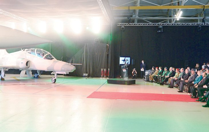 IN PHOTOS: Oman minister attends launch of Typhoon, Hawk aircraft