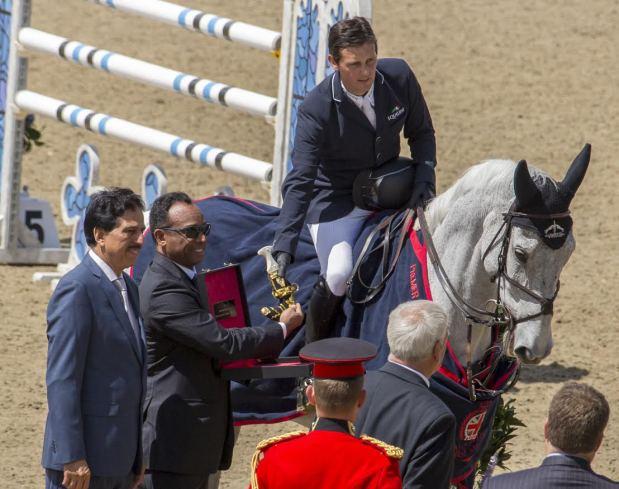 Bahrain's riders shine at Windsor Horse Show