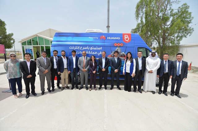 Batelco launches fibre experience van
