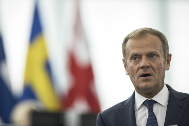 EU wants safeguards against trade dumping by UK, says Tusk