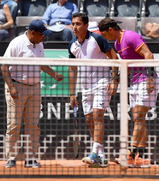 Italian Open: Nadal extends winning streak to 16 when Almagro retires