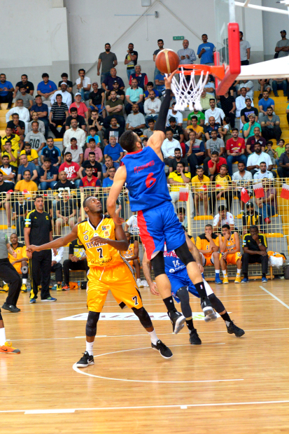 Manama clinch semi-final spot in 37th GCC Clubs Basketball Championship