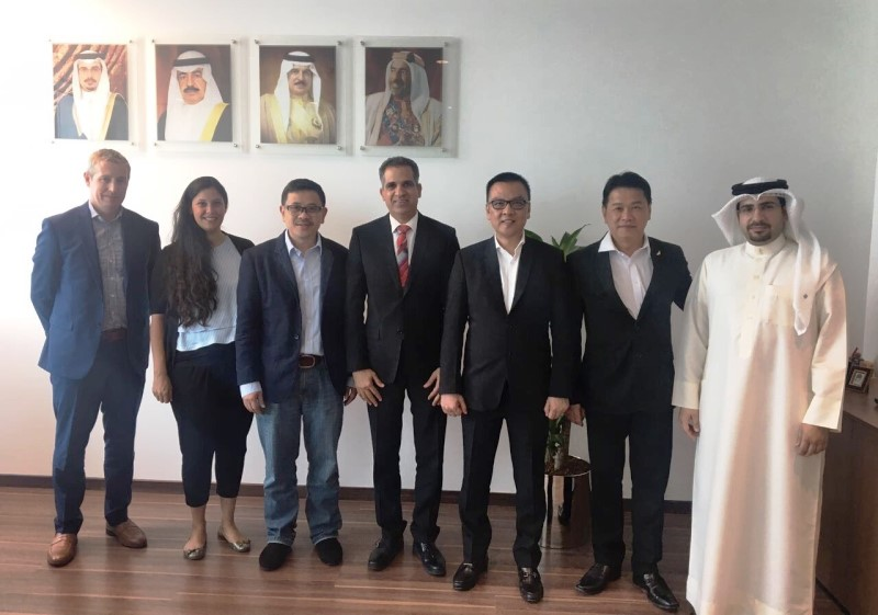 Assistant Undersecretary of Industrial Development meets delegation from Aladdin Group