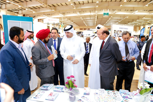 Sports Minister inaugurates Gulf Sports Expo