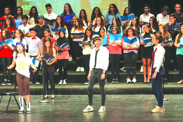 Young musicians hit the right note