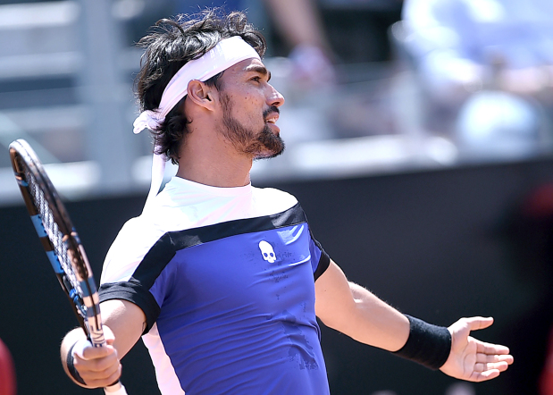 Foul-mouthed Fognini could face sanctions