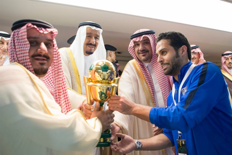 IN PHOTOS: Cup of joy for Al Hilal as Saudi King attends final