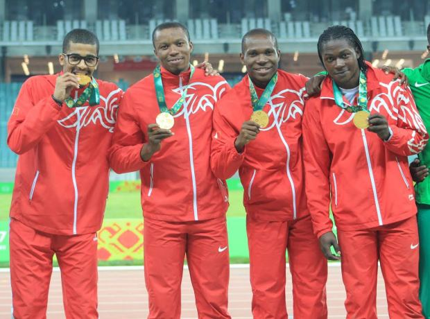 Bahrain athletes too hot in Baku