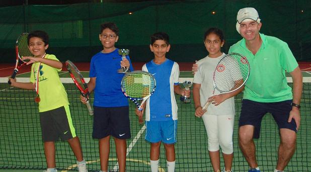 Rohan captures junior tennis title