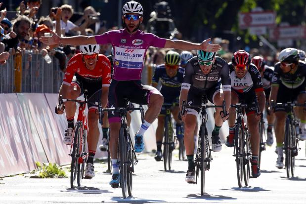 Gaviria sprints to his fourth victory