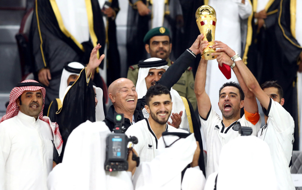 Cool Al Sadd lift Qatar Emir Cup in air-conditioned stadium