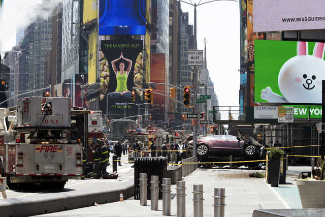 Deadly Times Square attack highlights NYC pedestrian safety