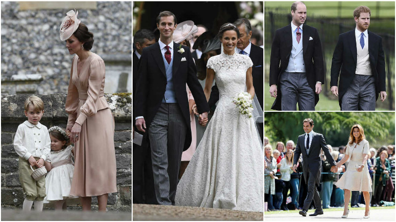 PHOTOS: Royal sister-in-law Pippa takes spotlight in star-studded British wedding