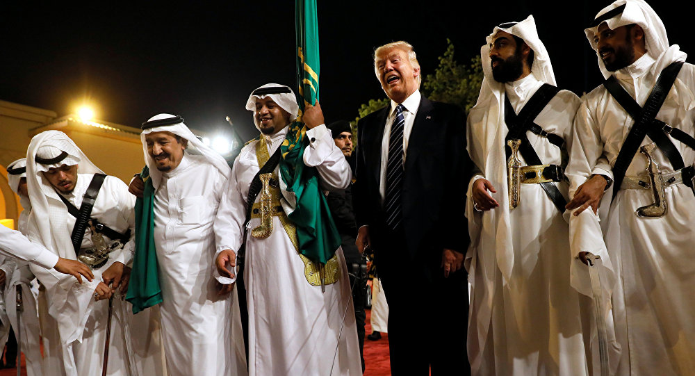 IN PICTURES: US President Trump wins warm welcome in Saudi