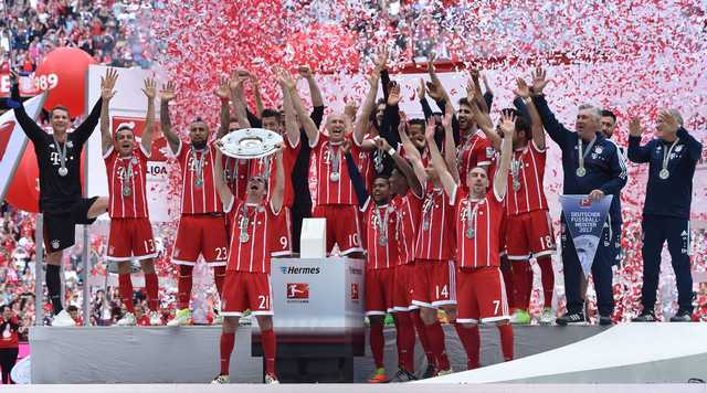 Bayern bids adieu to Lahm, Alonso in Bundesliga final show