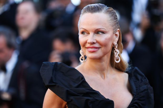 Photos: Pamela Anderson looks unrecognisable in Cannes