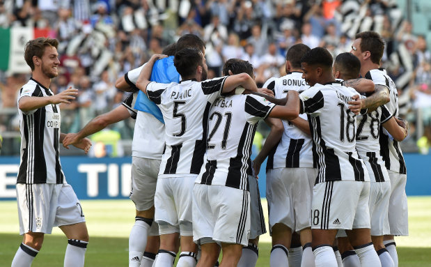 IN PICTURES: Juventus clinch sixth successive Serie A title with Crotone win