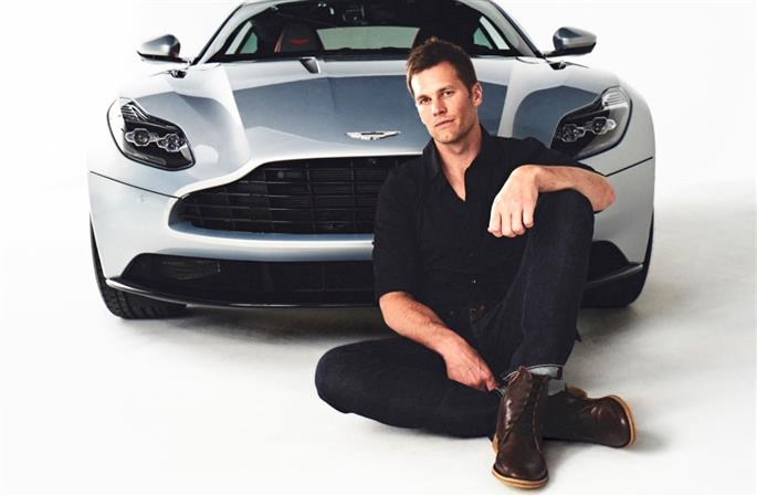 Aston Martin and Tom Brady unite introducing 'Category of One'