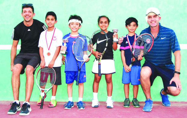 Ahmed wins 8-and-under title
