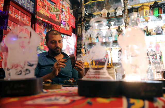 In Pictures: Cairo lantern-maker champions old craft against Chinese imports