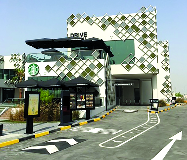 Starbucks opens drive-thru in Isa Town