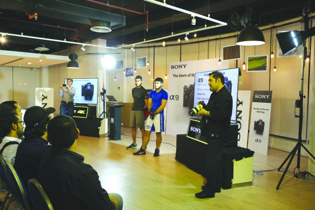 Ashraf's unveils Sony α9 camera