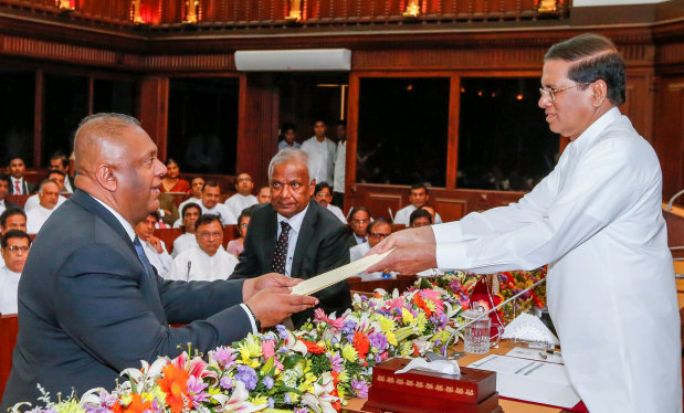 Sri Lanka's president replaces foreign minister