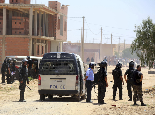 One dead, several injured in protest clashes in Tunisia