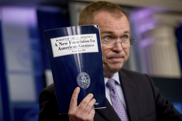 Trump seeks to slash $3.6 trillion of government spending in budget