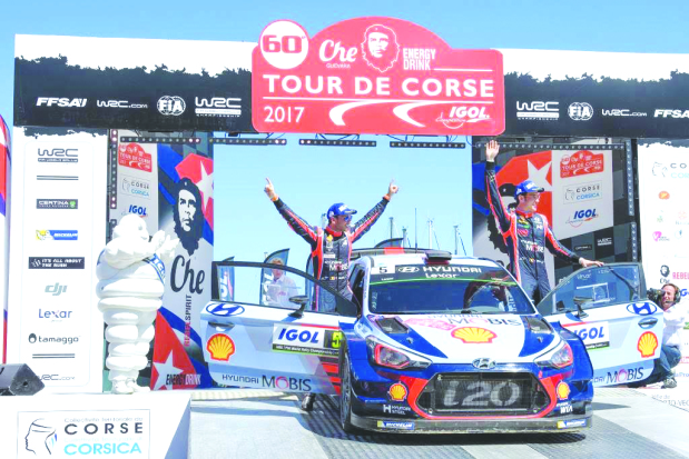 Hyundai claim victory in FIA World Rally Championship