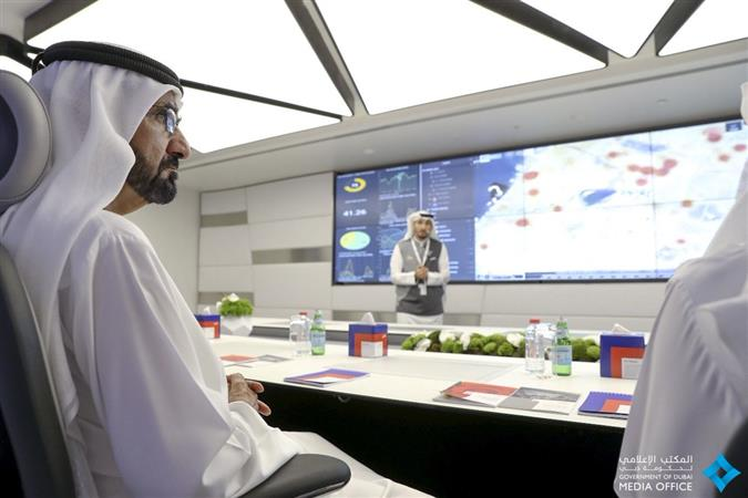 Hi-tech transport control platform inaugurated in Dubai