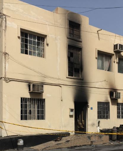 Blaze kills three in Muharraq