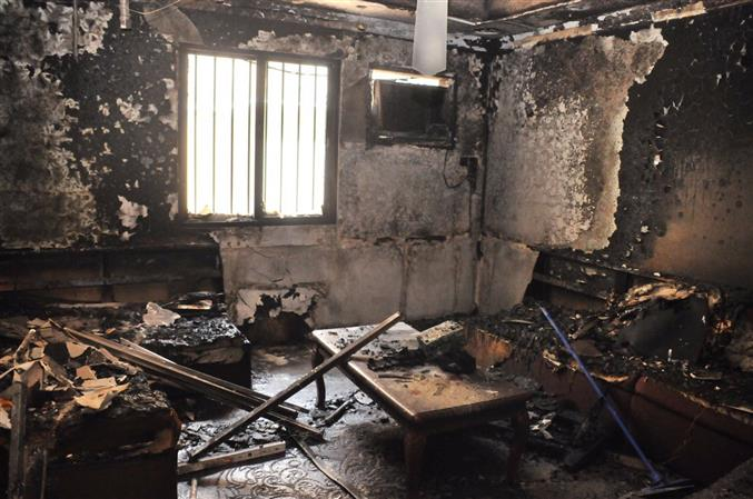 Two-year-old child dies in Hamad Town fire