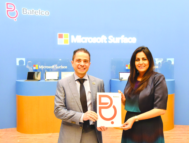 Batelco launches Microsoft Surface
