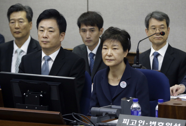 Ousted South Korean leader Park goes on trial