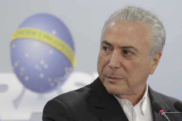 Presidential corruption crisis eases slightly for Brazil's Temer
