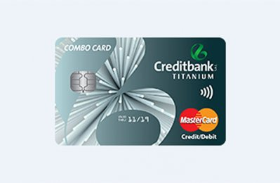Creditbank offers combined credit and debit card