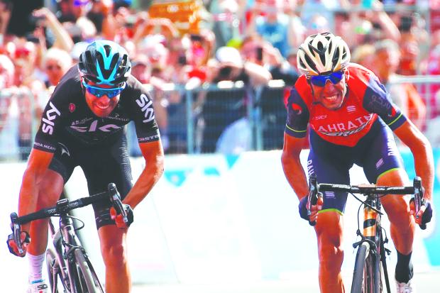 Nibali sprints to victory at home
