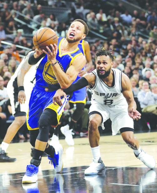 Warriors sweep into NBA Finals