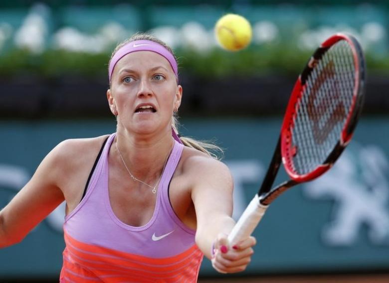 Tennis: Kvitova on track for Wimbledon return