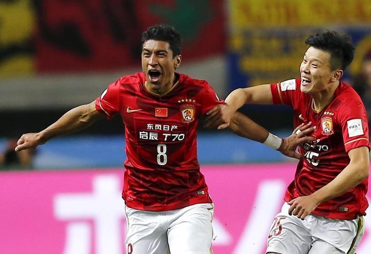 Paulinho lifts Guangzhou