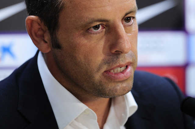 Ex-Barcelona president Rosell held in money laundering probe
