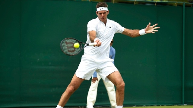 Del Potro suffers shock exit in Lyon