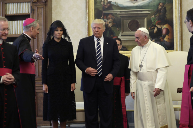 In Pictures: Trump and Pope Francis meet