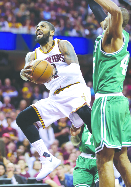 Cavaliers close in on NBA Finals slot