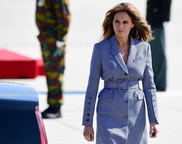 Forget Trump White House, Belgium shows Melania the surreal