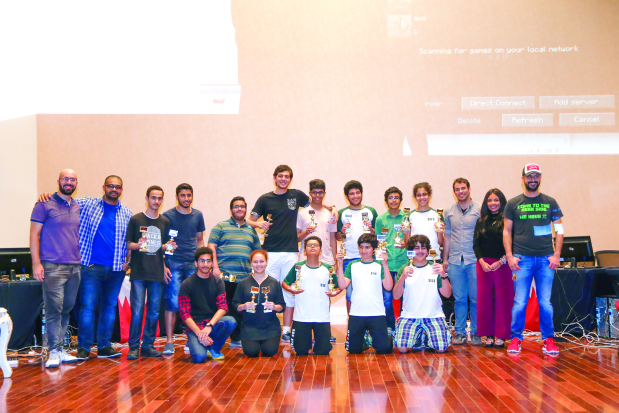 Coding contest winners are honoured