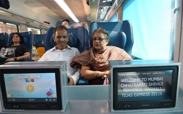 In Pictures: All aboard India's new luxury affordable train